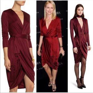 Altuzarra Target Wine Burgundy Dress Size 2